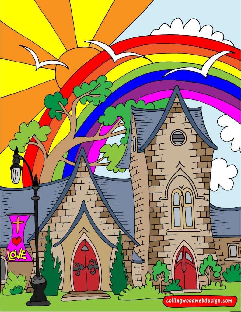 All Sants Church-colour